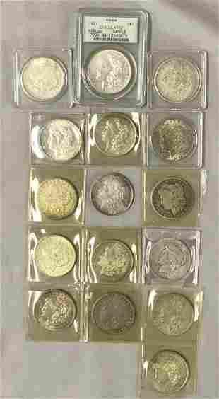 U.S. Silver Dollar Lot.