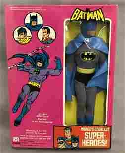 """1976 MEGO WGSH Batman, NRFB 12.5"""" Figure"""