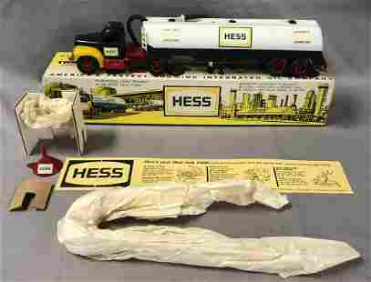 1964 Hess Tanker Truck Trailer, w/Orig Box, Marx
