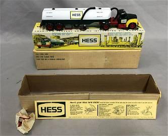 1964 Hess Tanker Truck Trailer, w/Orig Shipper Box