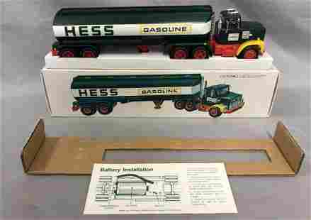 1977 Hess Fuel Oil Tanker Truck with Original Box