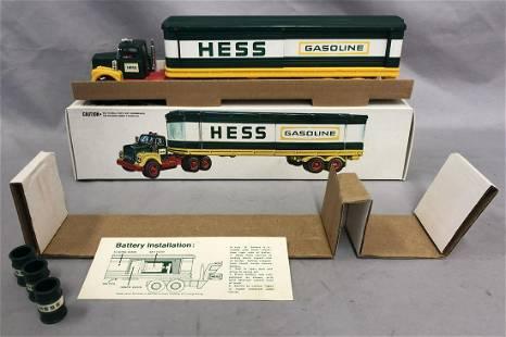 1976 Hess Box Trailer Truck with Original Box