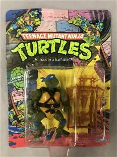 1988 Unpunched MOC TMNT Leonardo, 10 Back
