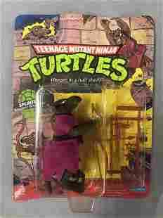 1988 Unpunched MOC TMNT Splinter, 10 Back