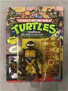 1990 MOC TMNT Donatello with Storage Shell