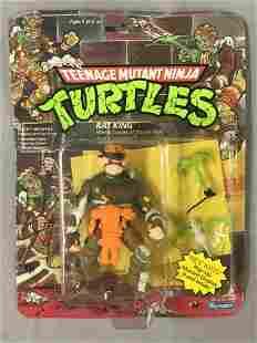 1989 Mint on Card TMNT Rat King Action Figure