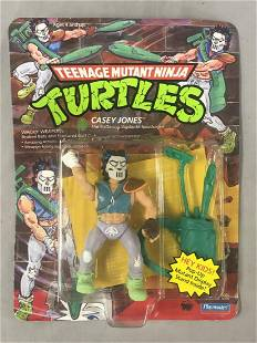 1989 Mint on Card TMNT Casey Jones Action Figure