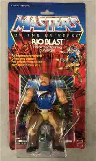 1986 He-Man MOTU Rio Blast Action Figure, MOC