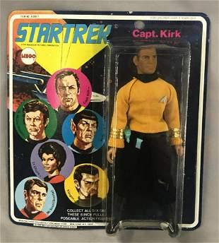 1974 MOC MEGO Star Trek Capt. Kirk Action Figure