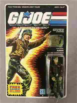 1986 Unpunched MOC GI Joe Hawk Figure, 34 Back