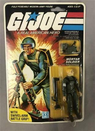 1982 MOC GI Joe Short-Fuze Mortar Figure, 30 Back