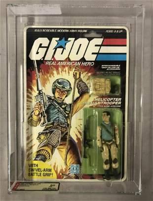 1983 GI Joe Airborne Figure, 32 Back, AFA 80 NM