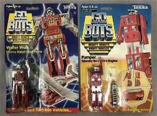 1983/84 GO BOTS Water Walk & Pumper Robots, MOC