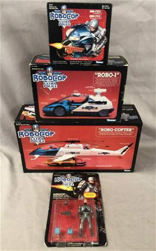 1988 Robocop Ultra Police, Figure, Vehicles, MISB
