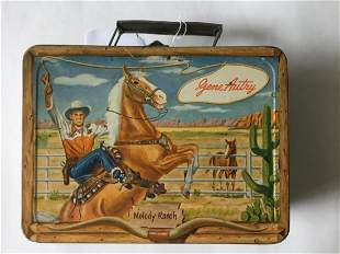 Gene Autry Lunch Box and Thermos.