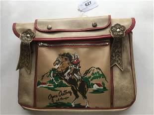 Gene Autry School Bag.