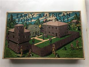 Lincoln Log Early American Fort Set.