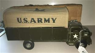 Buddy L #3621 Army Truck in Box.