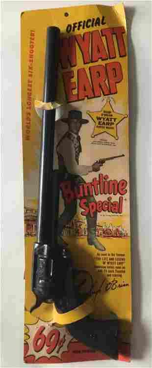 Wyatt Earp. Buntline Special. Carded.