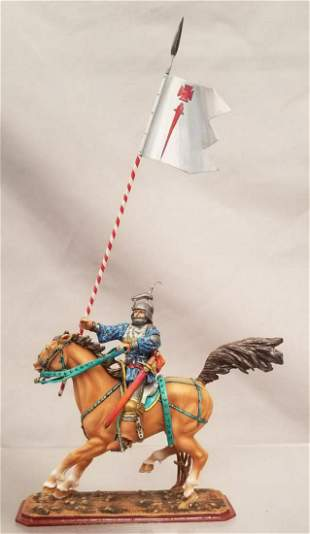 St Petersburg Arsenev Mounted Templar Knight With
