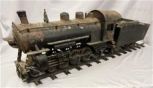 Buddy L RR Locomotive, Tender and Track, TLC