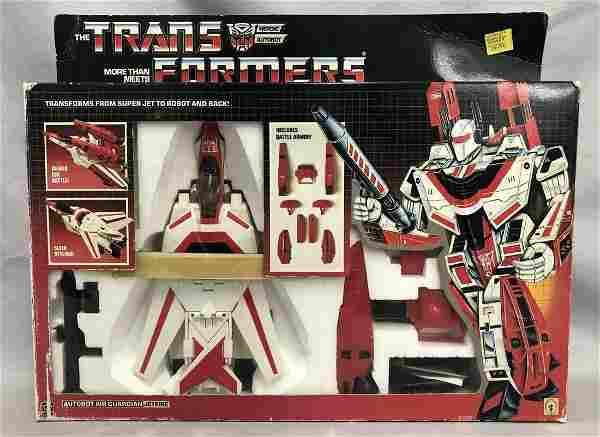 "1986 Boxed Transformers G1 ""Jetfire"", Complete"