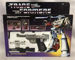 """1984 Boxed Transformers G1 """"Megatron"""", Complete"""
