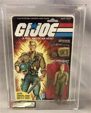 1984 GI Joe Duke First Sergeant, 32 Back, AFA 75