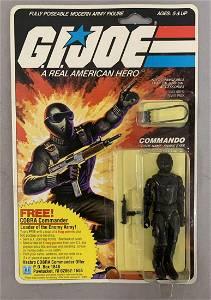 1982 MOC GI Joe Commando Snake Eyes, 9 Back