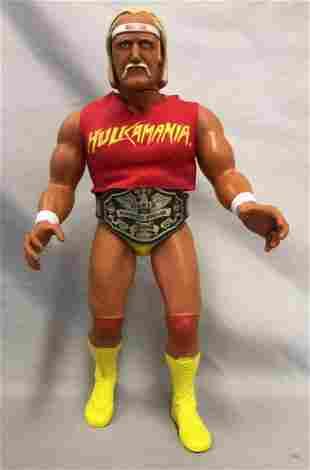 """1985 Hulk Hogan 16"""" Figure Complete w/Shirt & Belt"""