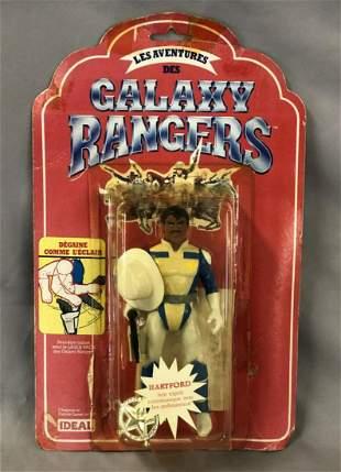 "Rare 1986 Galaxy Rangers ""Hartford"" Figure, French"