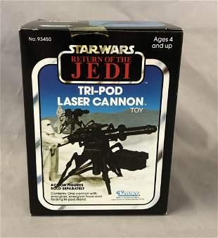 1982 MIB Star Wars ROTJ Tri-Pod Laser Cannon