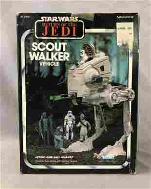 1983 MISB Star Wars ROTJ Scout Walker Vehicle