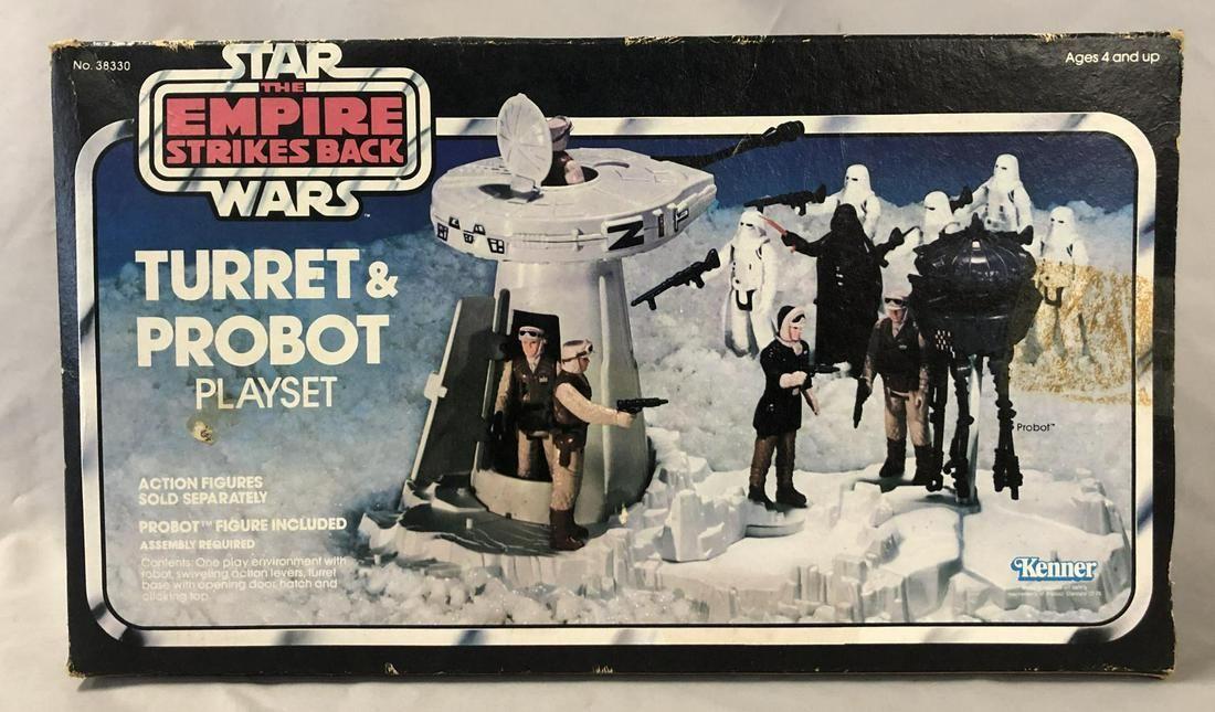 1980 Boxed Star Wars ESB Turret & Probot Playset