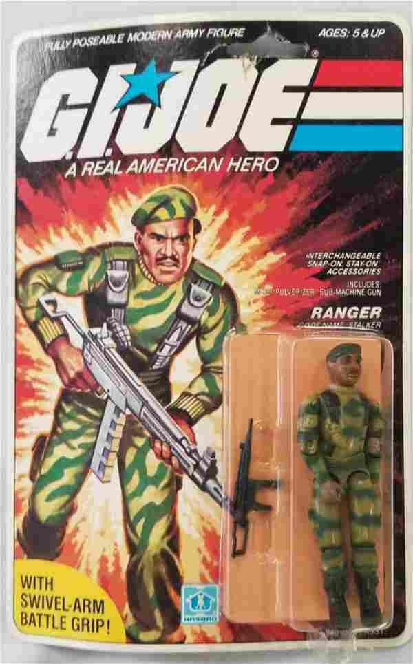 1983 MOC GI Joe Stalker Ranger Figure, 32 Back