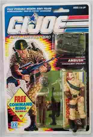 1990 MOC GI Joe Ambush Figure, 34 Back