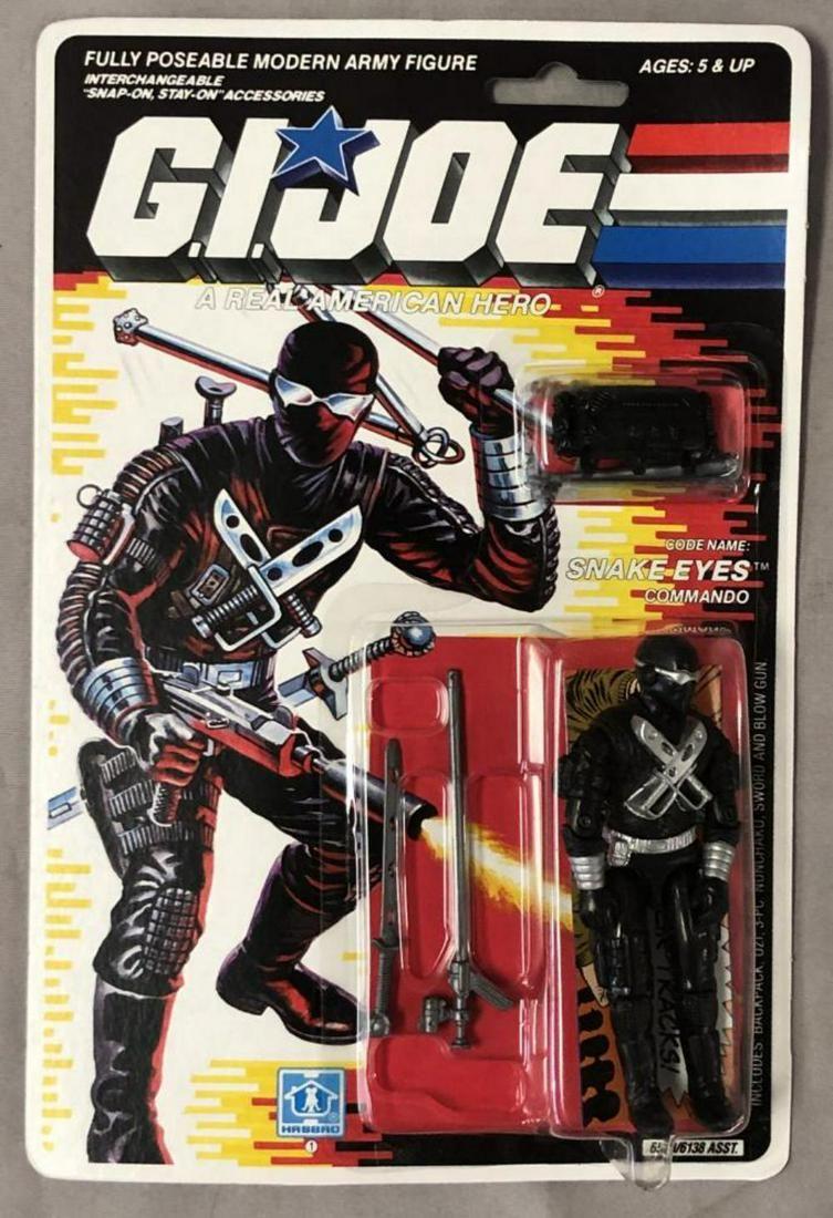 1989 MOC GI Joe Snake Eyes Commando, 34 Back