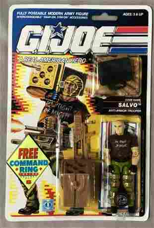1990 MOC GI Joe Salvo Trooper Figure, 34 Back