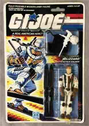 1988 MOC GI Joe Blizzard Artic Figure, 34 Back