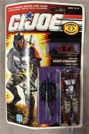 1990 MOC GI Joe Night Creeper Ninja, 34 Back