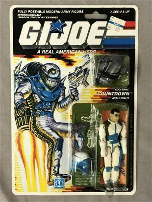 1989 MOC GI Joe Countdown Astronaut, 34 Back