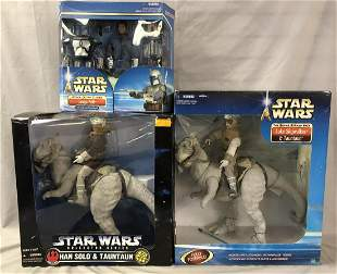 3 Piece Modern Star Wars Large Size Action Figures