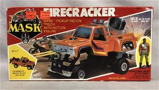 1986 MISB MASK Firecracker Vehicle, Kenner