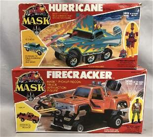1985/86 Kenner MASK, Firecracker & MISB Hurricane