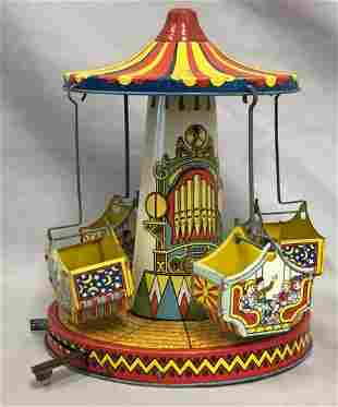 Tin Litho Mechanical J. Chein Aero Swing