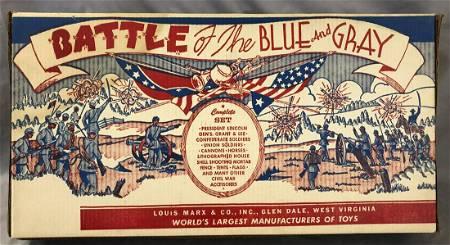 Sealed Marx 4658 Battle of the Blue & Gray Playset