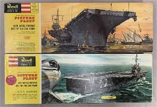 Revell U.S.S. Saratoga & Ranger, Model Kits