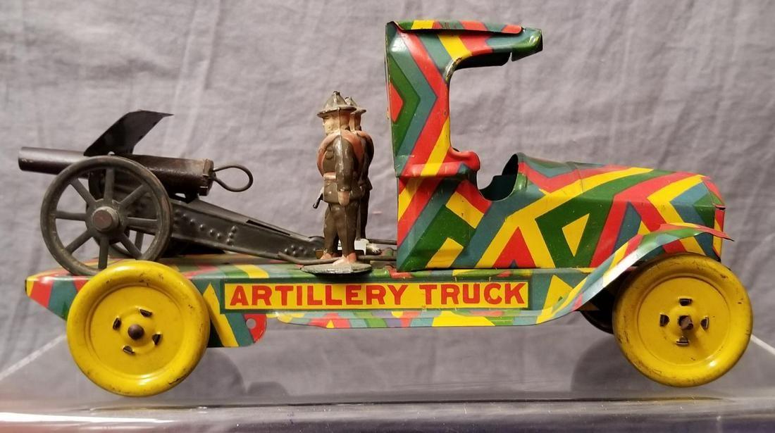 Unusual Wells Artiliary Truck