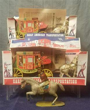 3Pc Western Toys Lot