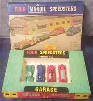 Boxed Manoil Speedster Set 7890